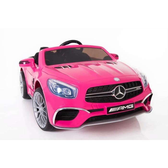 Mercedes SL65 voiture enfants 12v - Couleur:Rose