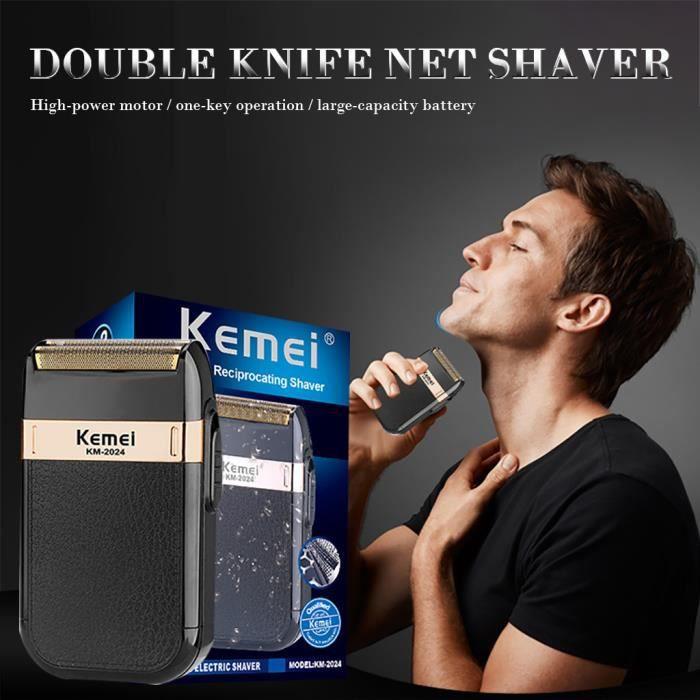 Fournitures de coiffeur Hommes rasoir électrique lavable usb rasage machine courte barbe ZHO200413004_365