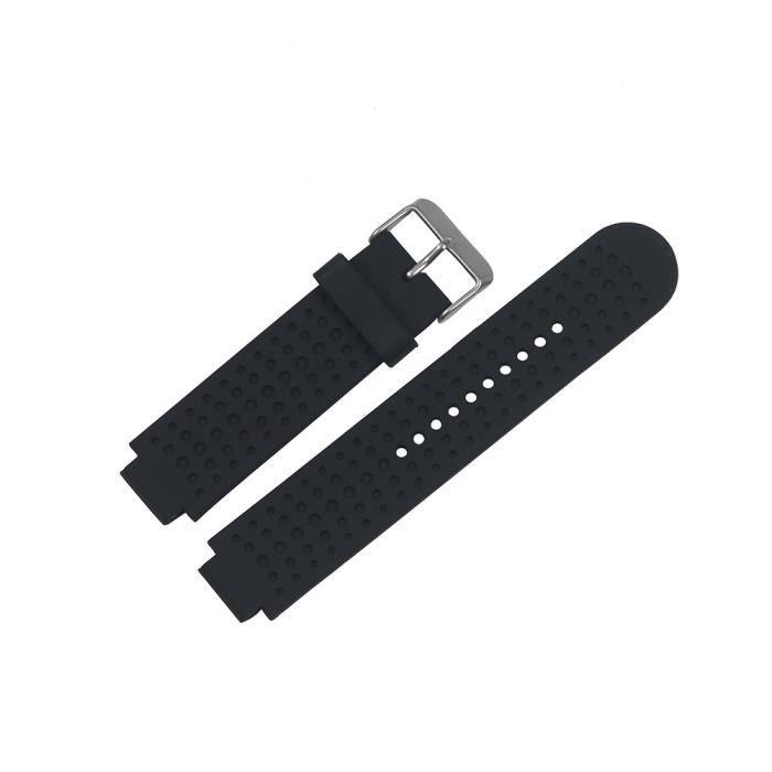bracelet de montre vendu seul Bracelet de montre-bracelet pour bracelet Garmin Forerunner 25 outil d'exploitation mâle