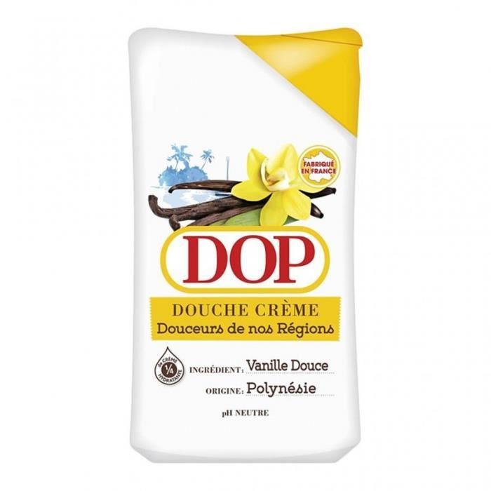 DOP Douche Crème Douceurs de nos Régions Vanille Douce Polynésie 250ml (lot de 4)