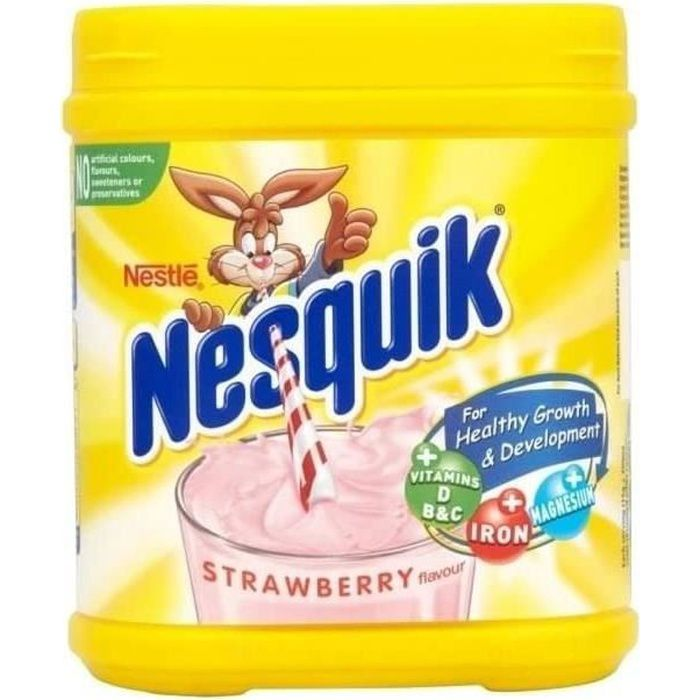 Fraise Nesquik MilkShake 500G 229