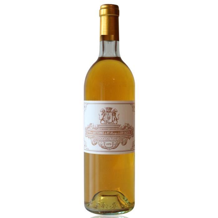 Château Filhot GCC 1979 Blanc 75cl AOC Sauternes