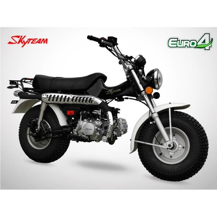 Mini Moto - T-REX 125 - Noir - SKYTEAM