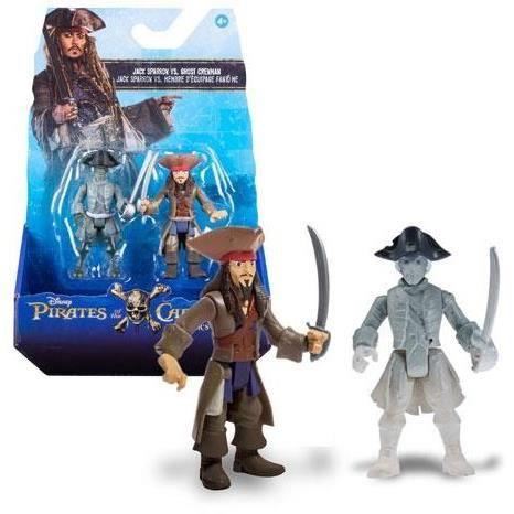 Pack de 2 figurines Pirates des Caraïbes assorties 14x21cm