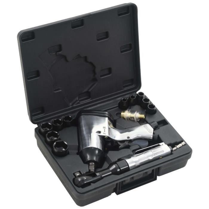 TAO Jeu d'outils pneumatiques 1-2- 16 pcs #1