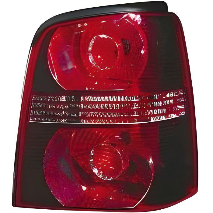Feu arrière droit VOLKSWAGEN TOURAN I phase 2, 2006-2010, fond rouge,