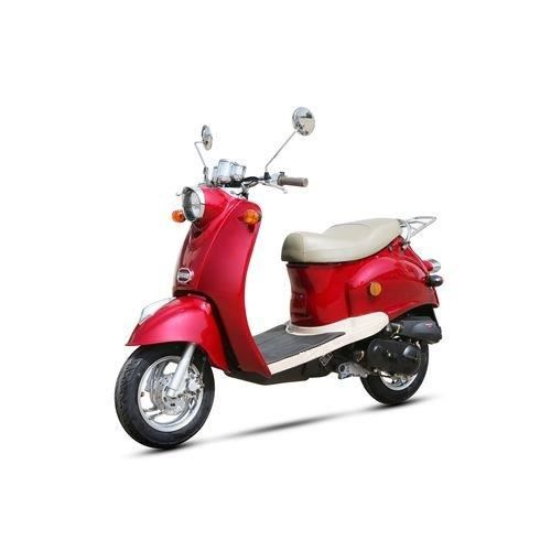 scooter 50cc 4t milano rouge achat vente scooter. Black Bedroom Furniture Sets. Home Design Ideas