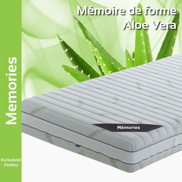 m mories matelas 120x190cm achat vente matelas cdiscount. Black Bedroom Furniture Sets. Home Design Ideas