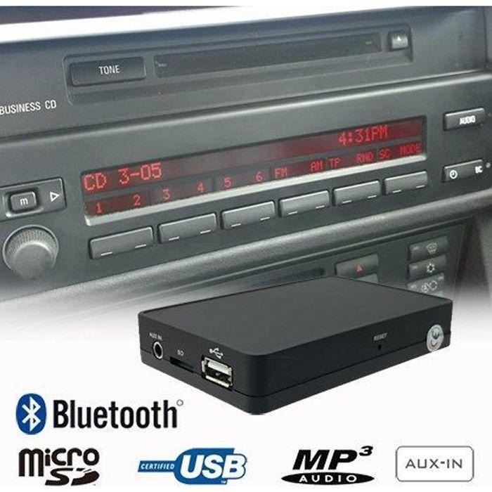 KIT POUR VOITURE Bluetooth USB Mains Libres Adaptateur pour BMW X3