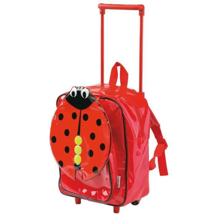 trolley sac dos coccinelle achat vente cartable 8717973400394 cdiscount. Black Bedroom Furniture Sets. Home Design Ideas