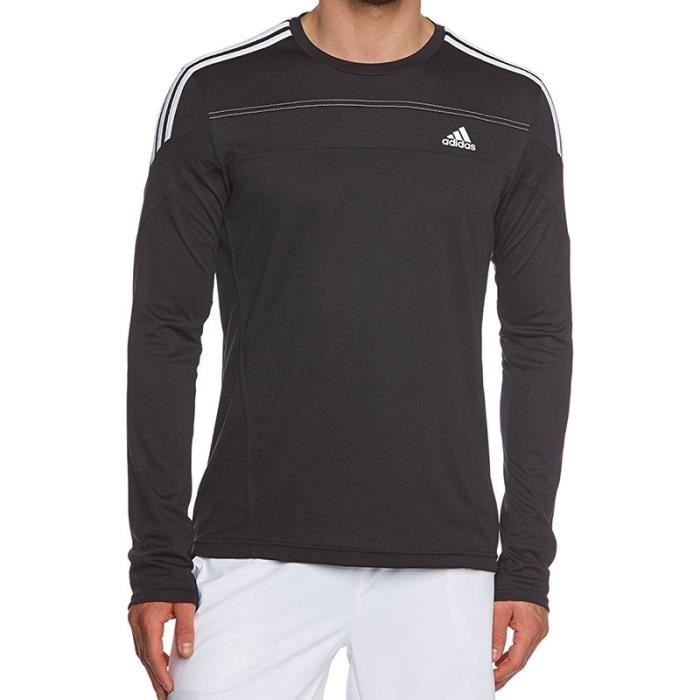tee shirt responsive running homme adidas prix pas cher soldes cdiscount. Black Bedroom Furniture Sets. Home Design Ideas