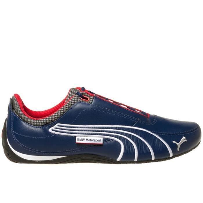 chaussure puma bmw bleu