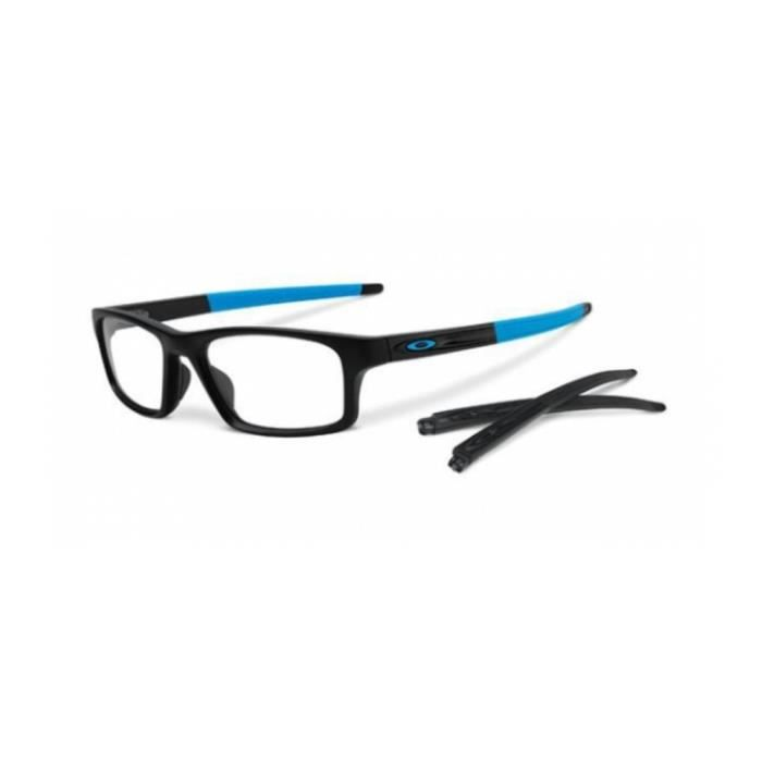 Monture lunettes Oakley OX8037 CROSSLINK PITCH SATIN BLACK (803701 ... 72b75e8948a0