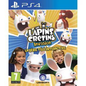 JEU PS4 Les Lapins Crétins Invasion - La Série Télé Intera