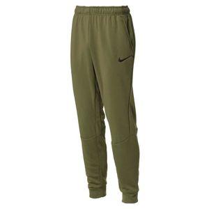 PANTALON NIKE Pantalon Training - Homme - Vert kaki