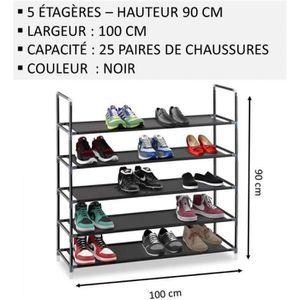 MEUBLE ÉTAGÈRE Meuble Chaussures,No59, Modulable 2 14 Étagères (1