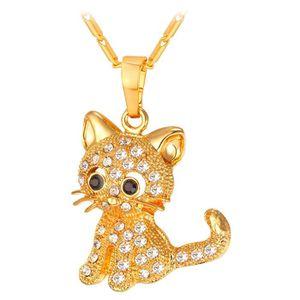 SAUTOIR ET COLLIER Kitty Cat Pendentif Collier Bijoux Pour Femmes Fil