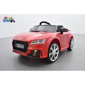 VOITURE ELECTRIQUE ENFANT Audi TT RS Roadster 12 volts Rouge Catalunya, voit