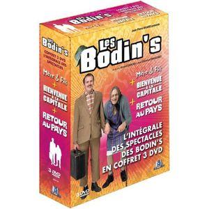 DVD SPECTACLE Les Bodin's - L'intégrale des spectacles - Coffret