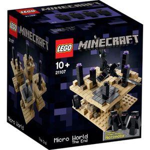 ASSEMBLAGE CONSTRUCTION LEGO® Minecraft 21107 Micro Monde La Fin