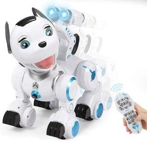 РОБОТ - АНІМА ЖЫВЕЦ RC Jouet Chien de Robot, Mignon Intelligent et Int