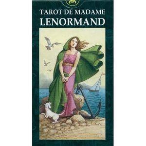LIVRE PARANORMAL Tarot de Madame Lenormand ( cartomancie - voyance)
