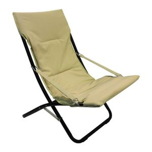 chaise chaise canapone extrieur relax beige tec 3445 - Relax Exterieur