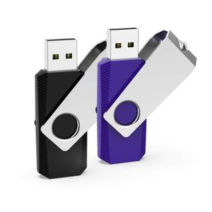 CLÉ USB RAOYI Lot de 2 Clé USB 32Go Pivotante, Clef USB 2.