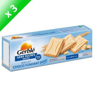 BISCUITS SECS GERBLE Biscuits et tablettes de chocolat blanc - 1