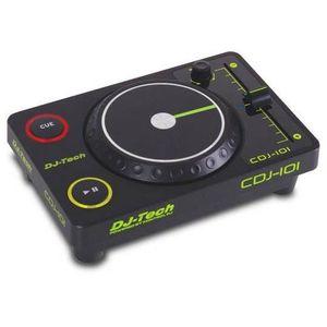 PLATINE DJ Mini contrôleur USB DJ Tech CDJ101