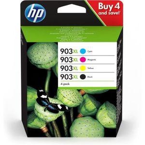 PACK CARTOUCHES HP 903XL pack de 4 cartouches d'encre noire/cyan/m