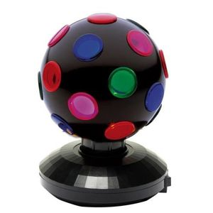 BOULE A FACETTES Sphere Disco Rotative Mini Light Ball