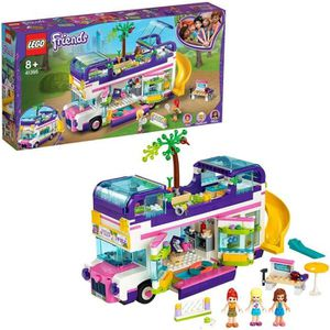 ASSEMBLAGE CONSTRUCTION LEGO® Friends 41395 - Le bus de l'amitié