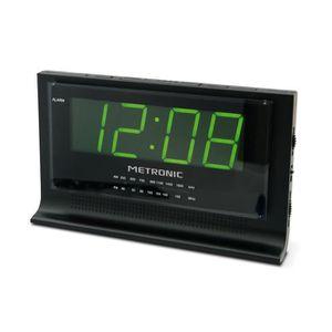 Radio réveil Metronic 477010 Radio Réveil avec Grand Affichage
