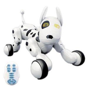 ROBOT - ANIMAL ANIMÉ chien de robot intelligent de telecommande sans fi