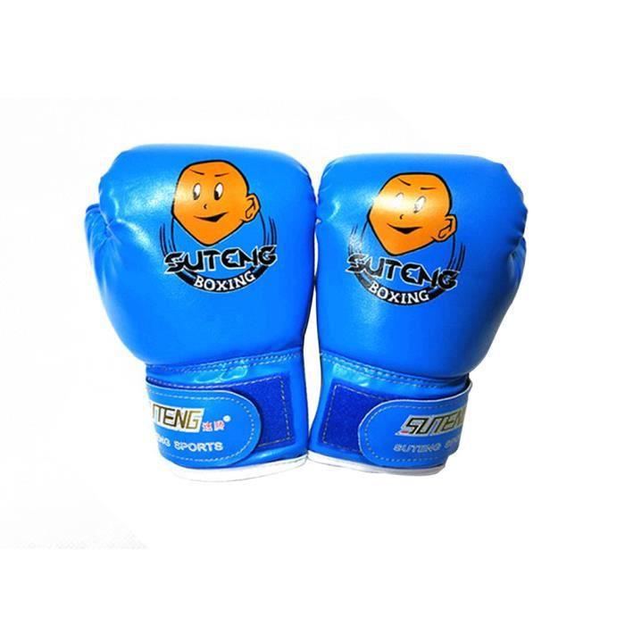 Enfants Cartoon Gants de boxe sac de boxe Sparring entraînement Lutte âge 3-12 @sahahhj689