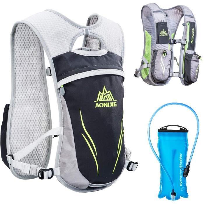 TRIWONDER Sac Trail Running 5,5L Gilet d'hydratation Sac &agrave Dos de Course Pack L&eacuteger pour Homme Femme Marathon Rand38