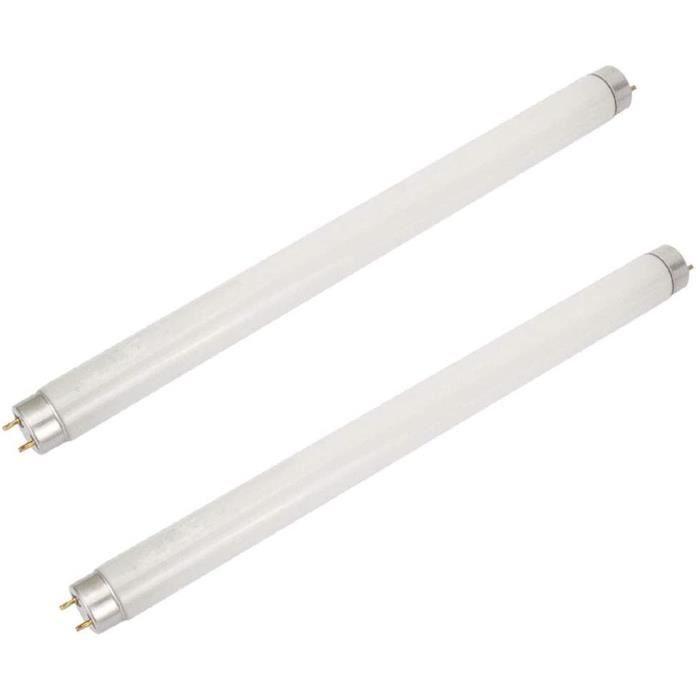 Paquet de 2 ampoules Bug Zapper 6W, ampoule UV T5 pour 12 W Bug Zappers, tueur d'insert anti-moustique, remplacement de la lampe éle