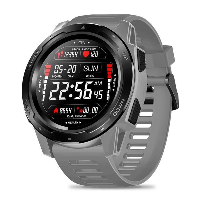 Zeblaze Vibe 5 Ip67 Fréquence Cardiaque Étanche Modes Multi-Sports Montre Intelligente De Remise En Forme LIW210107001GY_SH