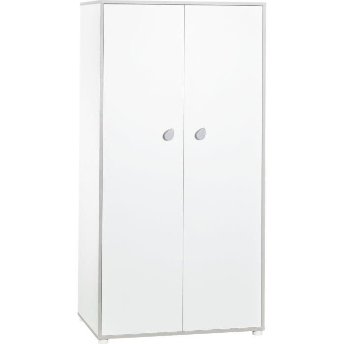BABYPRICE CLEO armoire 2 portes