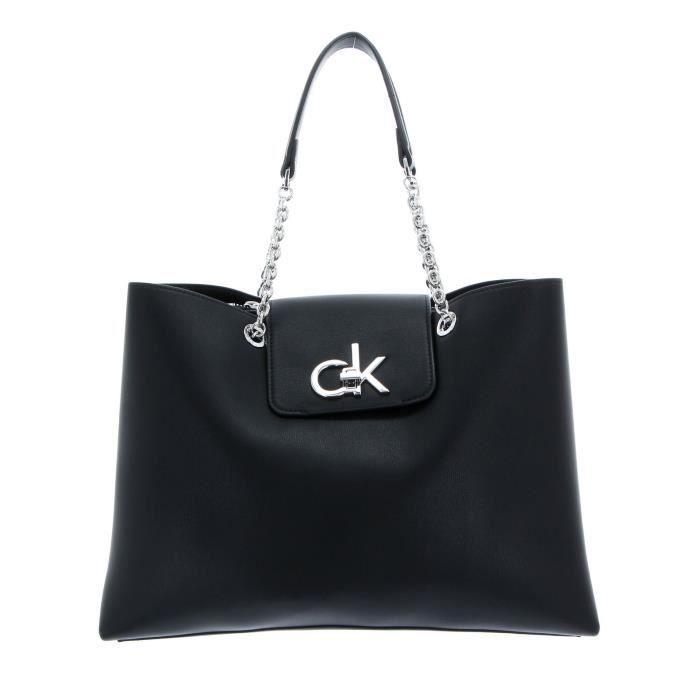 Calvin Klein Re-Lock Tote Black [100065]
