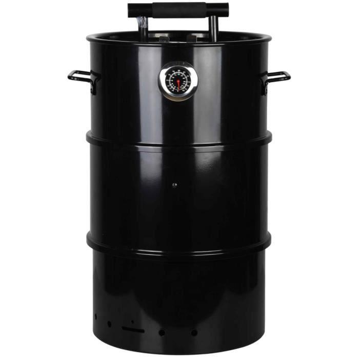 Esschert Design Fumeur de barbecue sous forme de baril S FF427