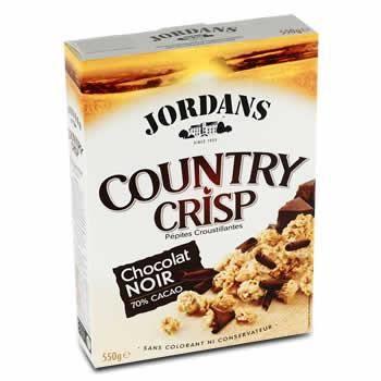JORDANS Country crisp chocolat noir - 550 g