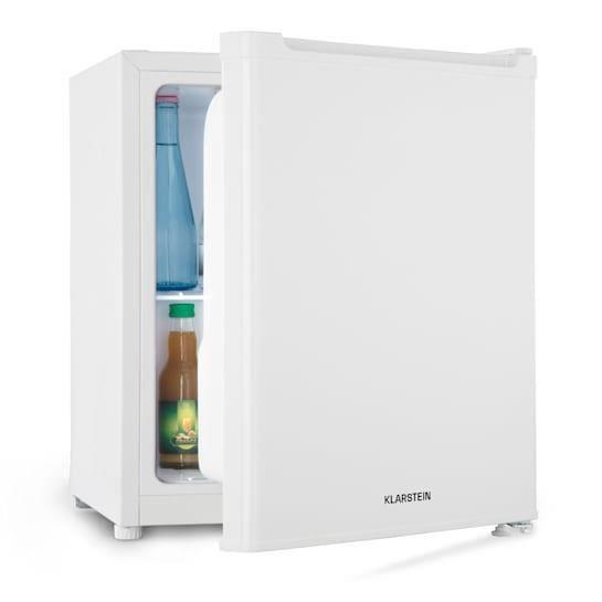 Klarstein Snoopy Eco Mini réfrigérateur à boissons avec compartiment congélateur - Minibar 46L - discret 41dB - classe A++ - blanc