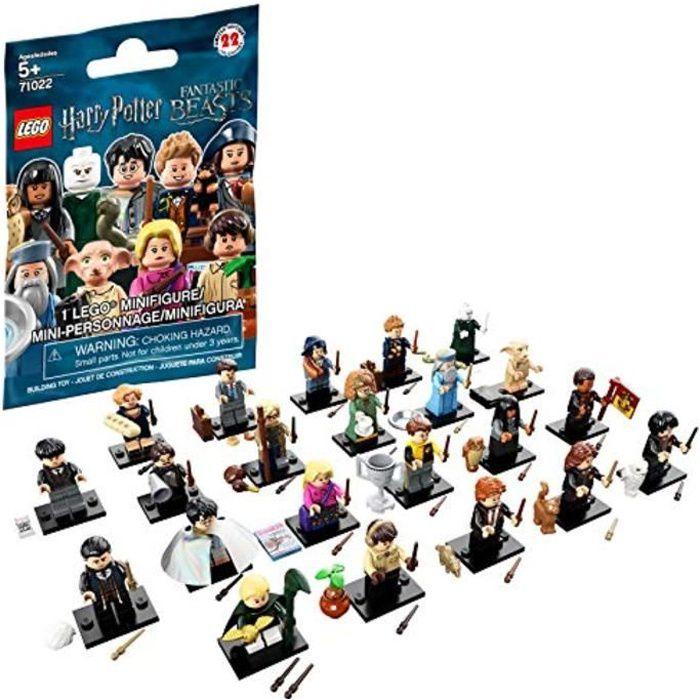 Jeu D'Assemblage LEGO NVO9U Minifigures Kit de construction des bêtes fantastiques Harry Potter (1 figurine, 8 pièces)