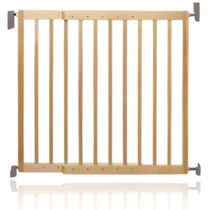 Barrière de sécurité extensible en bois Lindam…