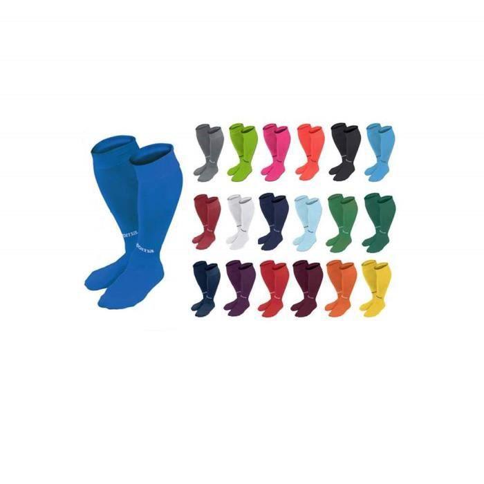 Lot de 3 paires de Chaussettes Futsal Classic Joma Couleur - Bleu Royal, Taille (Chaussettes)