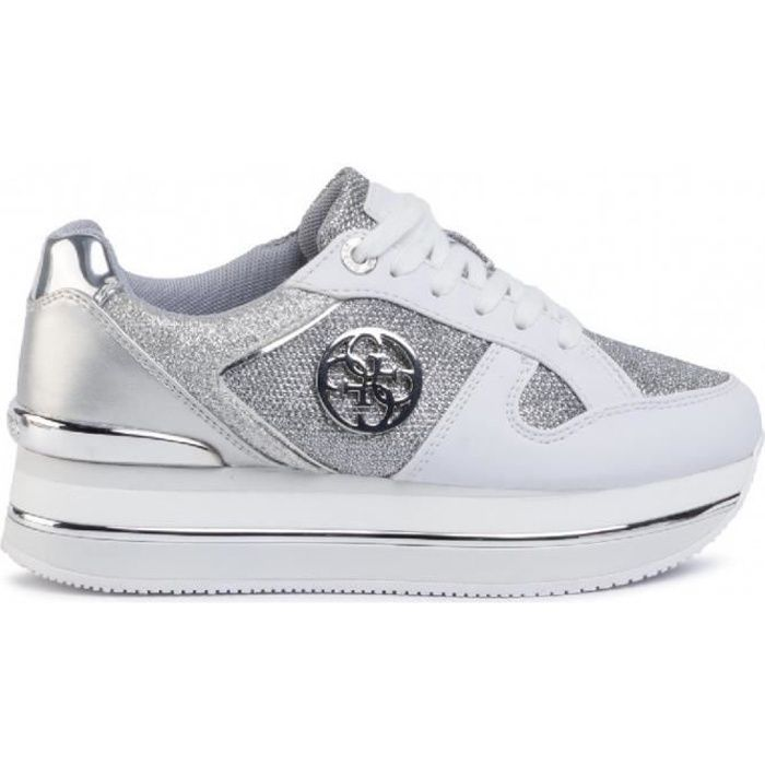 Basket mode Guess Dealy Argent