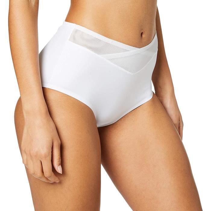 Triumph Femmes Vrai Forme Sensation Maxi Boxer Slip ,Blanc ,Taille 16