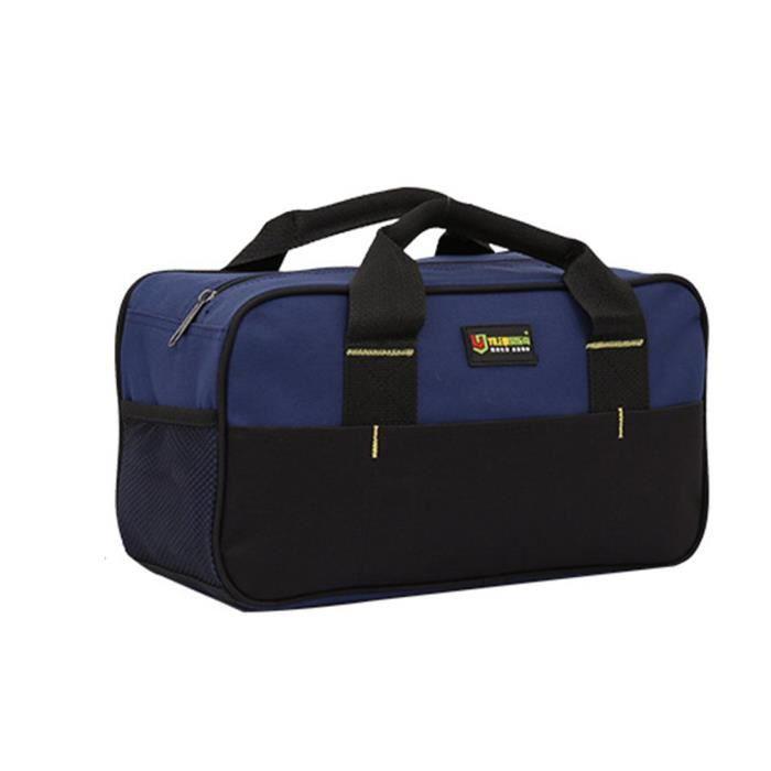 Sac à outils Bac d'outil Transport sac d'outil rangement sac pour outil en tissu Oxford 200 * 350 * 140 mm